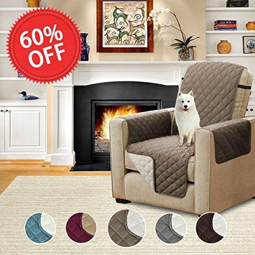 Hversailtex Quilted Quick Drape Reversible Furniture Cover Pet