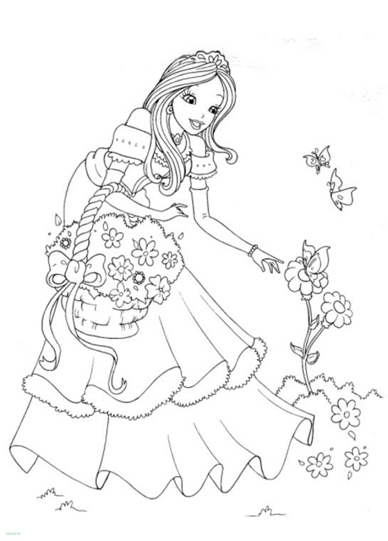 Disney Princess Coloring Page Disney Princess Coloring Pages To Print Rapunzel Unique Lovely Birijus Com Disney Princess Coloring Pages Princess Coloring Pages Princess Coloring