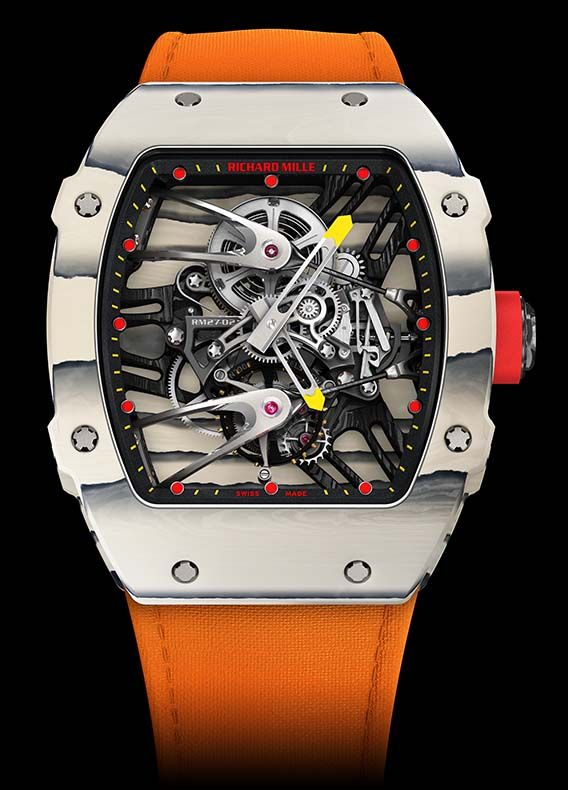 la cote des montres la montre richard mille rm 27 02 tourbillon rafael nadal la nouvelle. Black Bedroom Furniture Sets. Home Design Ideas