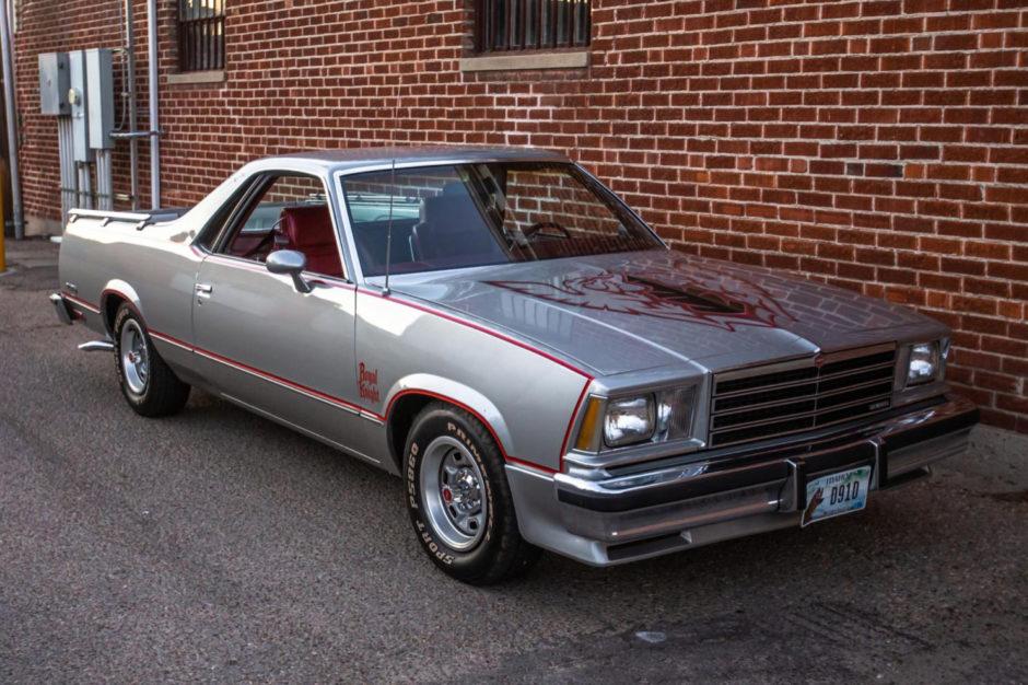 No Reserve 1979 Chevrolet El Camino Royal Knight In 2020