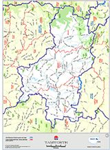 Map of Tamworth Maps Pinterest Tamworth