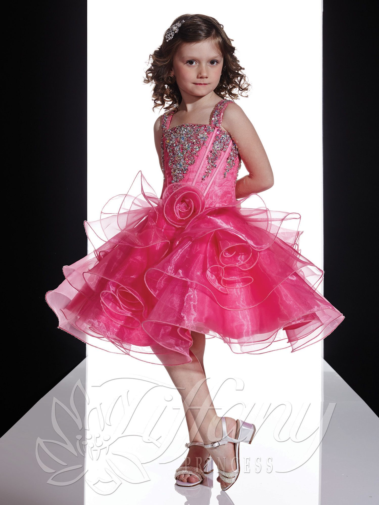 Pageant Dress for Tiffany Princess > 13350 | Flower Girl and Pageant ...