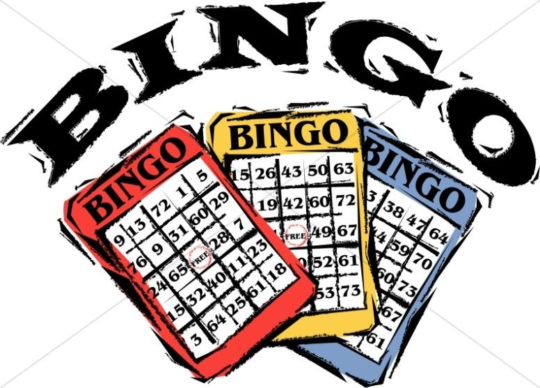 4 Awesome Word Bingo Clipart