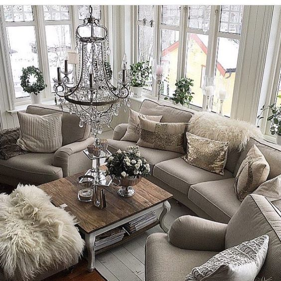 Cozy Luxury Homes Interior Gallery: 50+ Inspiring Living Room Ideas