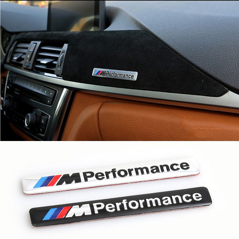 Car Stickers Car Styling 85x12mm Motosport M Power Performance