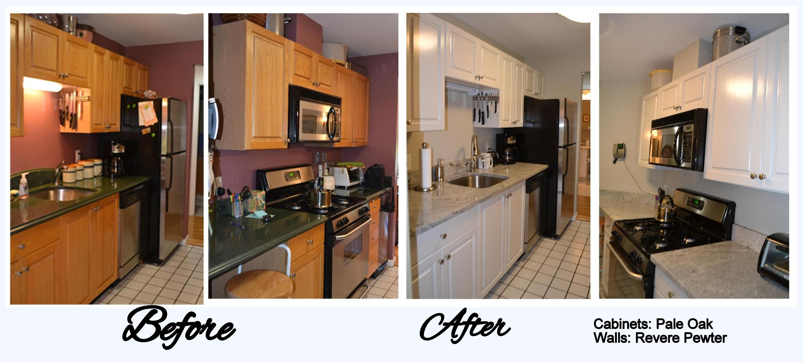 Kitchen Cabinets Refacing Before And After kitchen cabinet refacing before and after photos - google search