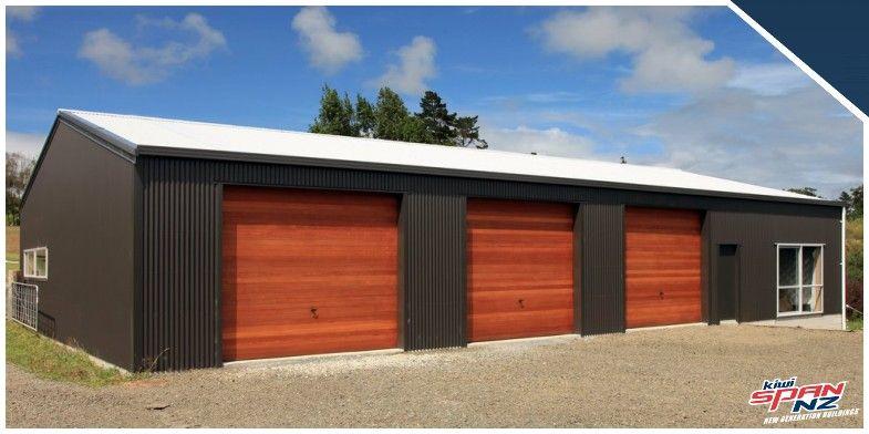 Kiwispannz garages and sheds kiwispannz sheds for Garage with accommodation