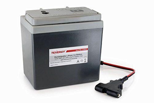 Tenergy Lithium 12V 24Ah Replacement Battery for Powakaddy