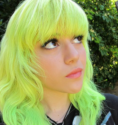 I love a little neon my style pinterest neon hair neon and overtone healthy color for healthy hair solutioingenieria Image collections