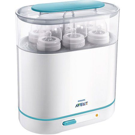 Free 3 Days Shipping Philips AVENT 3-in-1 Electric Baby Bottle Steam Sterilizer