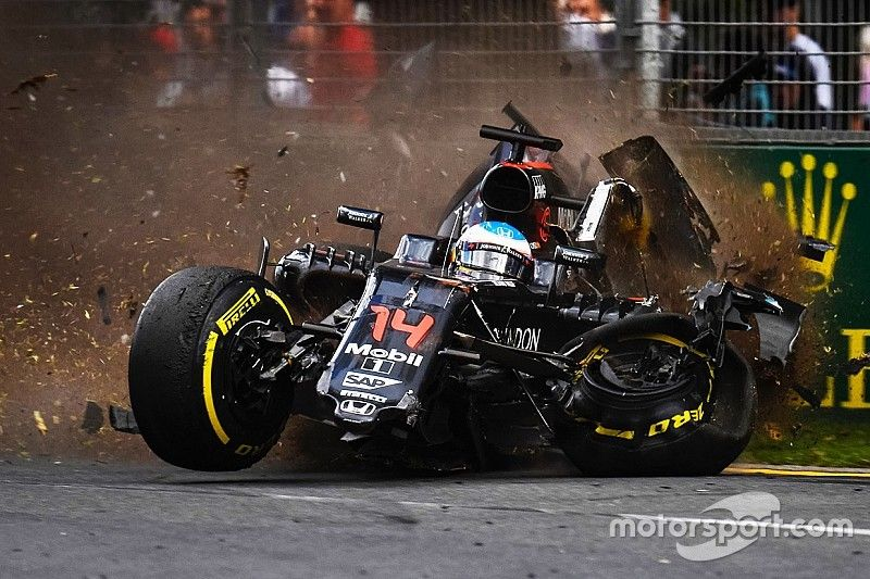mclaren honda: race and accident report from the australian gp | f1