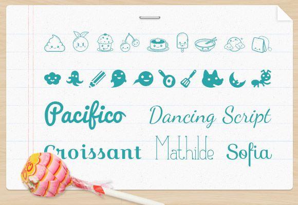 Kawaii Fonts Kao Ani Com Kawaii Fonts Photoshop Images