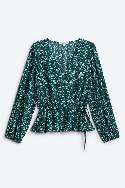 Cavanna Faux Wrap Blouse Stitch Fix Faux Wrap Blouse Fashion