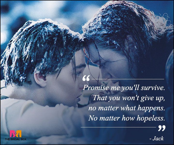 Titanic Quotes Beauteous Titanic Love Quotes  11 Best Ones From The Classic  Titanic