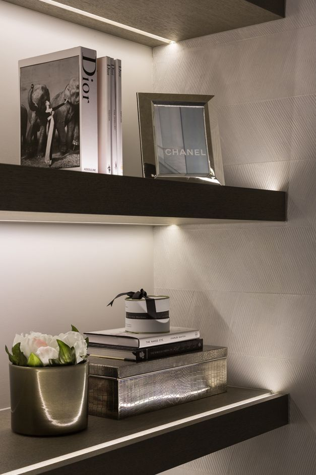 Etagere Shelves Mobilier Bibliotheque Lighting Lumiere