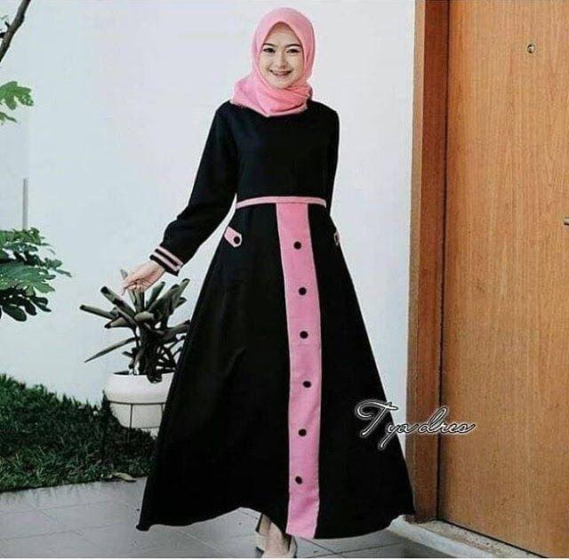 Gambar Baju Gamis Remaja Kekinian Gamis Anak Remaja Kekinian Baju Muslim Remaja Gamis Remaja Muslim Download Gamis Remaja Kekinian 20 Gaun Gaya Abaya Wanita