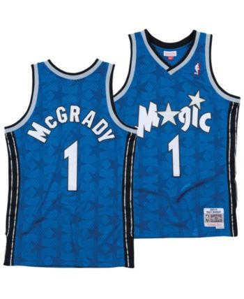 246175f6 Mitchell & Ness Men's Tracy McGrady Orlando Magic Hardwood Classic Swingman  Jersey - Blue XXL