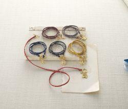 Studded Wrap Bracelets  | Fashion | Mud Pie, Navy wrap bracelet,