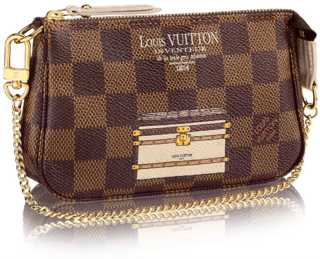 2f6b1c42f15 Louis Vuitton Mini Pochette Accessoires Trunks and Locks   Bag ...