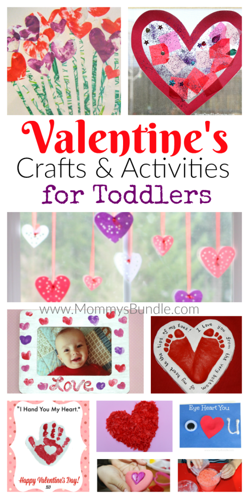 18 Fun Valentine S Crafts Activities For Toddlers Kid Blogger