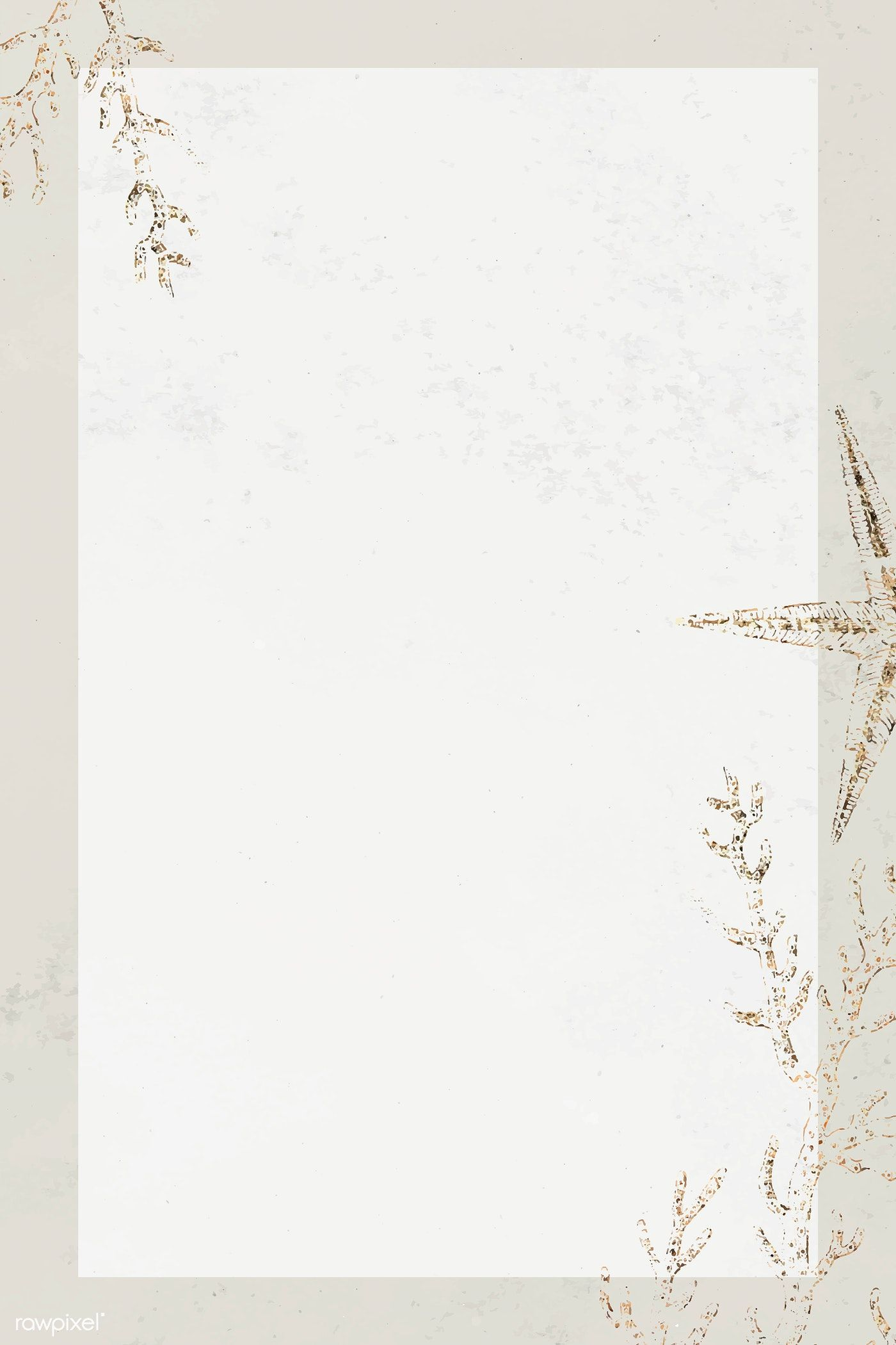 Download Premium Psd Of Gold Frame With Foliage Pattern On Marble Textured Gold Frame Marble Texture Flower Background Wallpaper