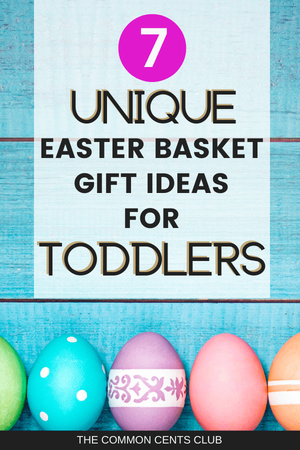 Best Easter Basket Ideas For Toddlers The Common Cents Club Easter Baskets For Toddlers Unique Easter Baskets Easter Baskets