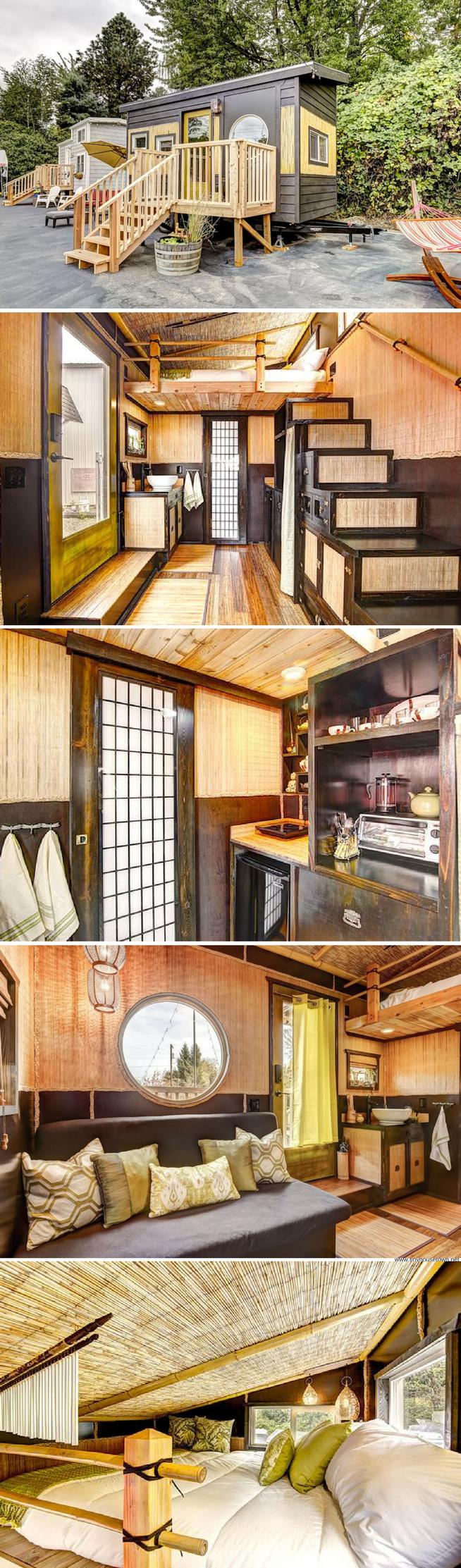 The Bamboo Tiny House Tiny House Living Tiny House