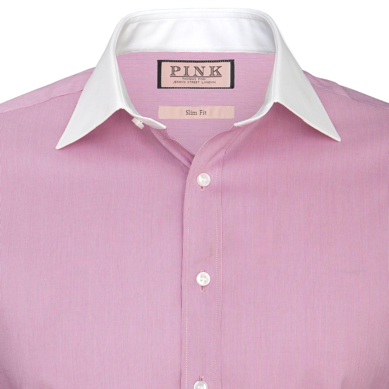 Bishop Plain Shirt - Double Cuff by Thomas Pink | FASH: M: Dress ...
