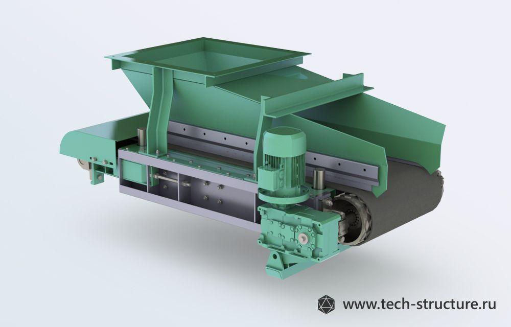 Модель ленточного конвейера продаю элеватор металлический