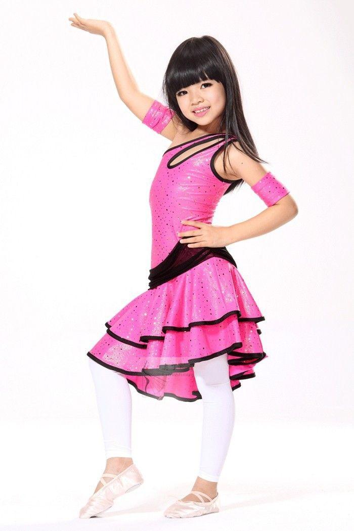 Leopard femme latine professionnel des spectacles de danse Costume / Top + fronde / 2pcs , xl