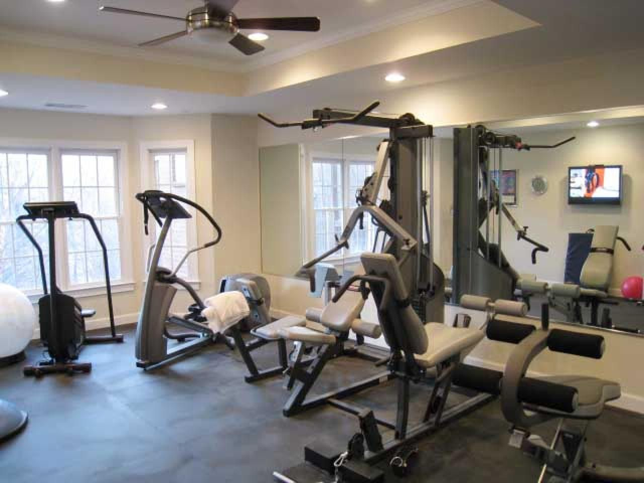 Superior Weight Room Design Ideas Part - 11: Manly Home Gyms