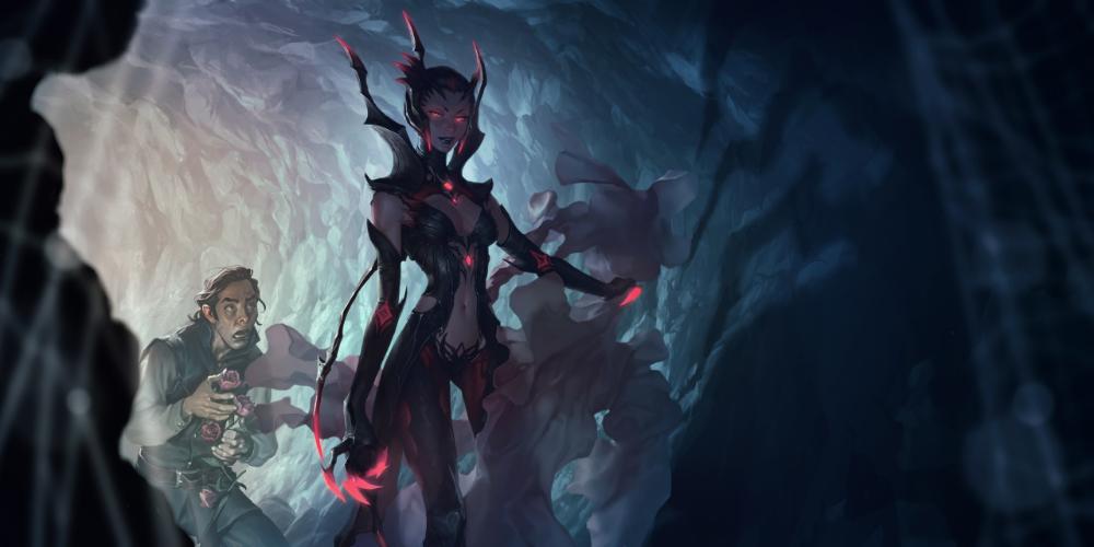 Legends Of Runeterra Splash Art League Of Legends Concept Art Art Album