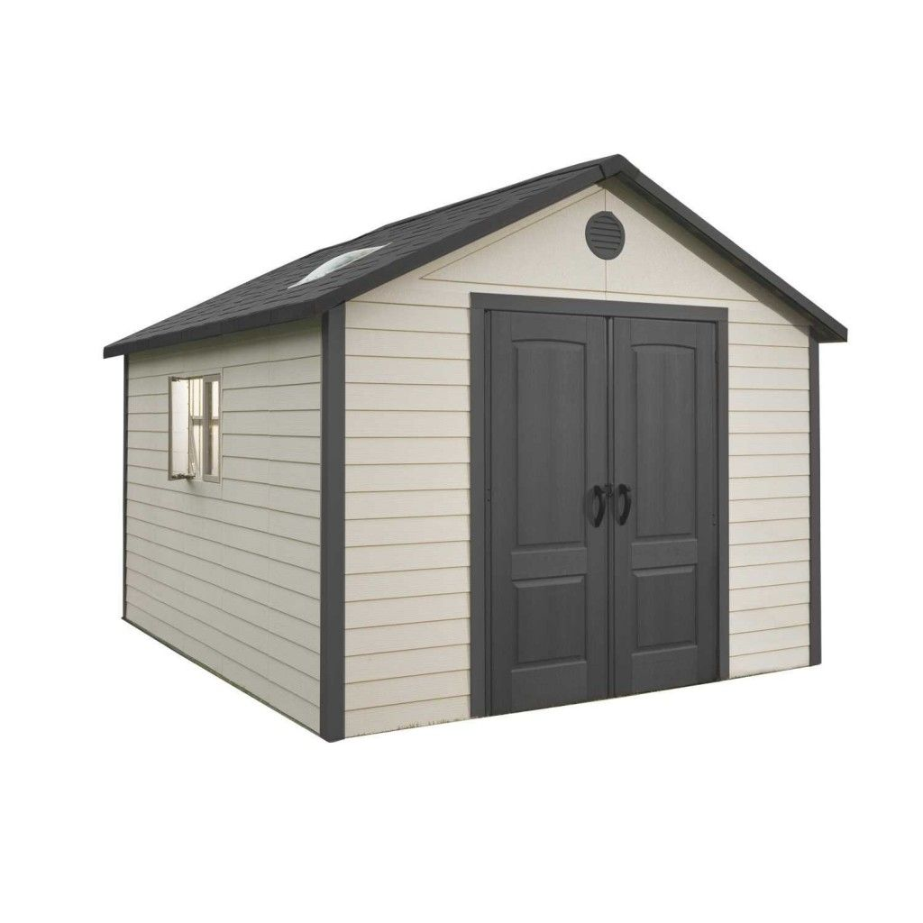 10x10 Plastic Storage Shed Outdoor Storage Buildings Plastic Storage Sheds Built In Storage