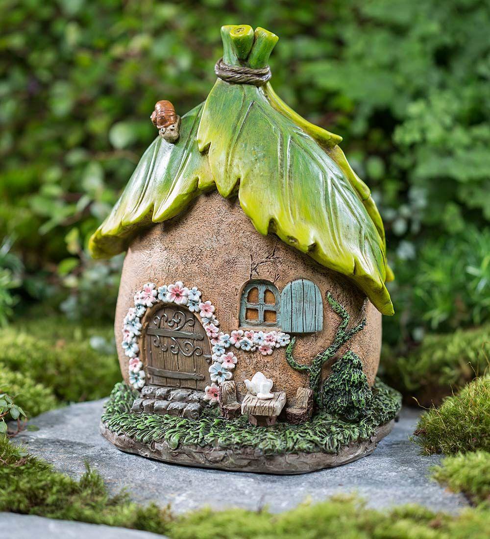 Fairy Garden Cottage Key Hider | Miniature Fairy Gardens | Key ...