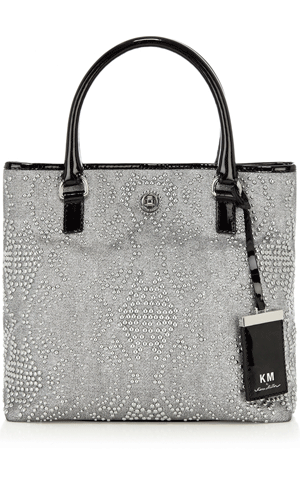 8983e274eb KM by Karen Millen studded tote | Handbags | Bag Accessories, Bags ...