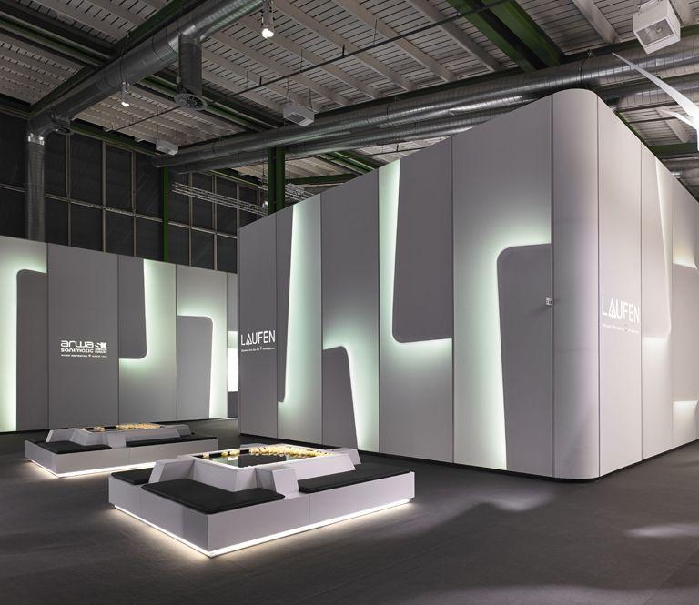 Simple Exhibition Stand Years : Atelier oï laufen bathrooms architecture exhibits