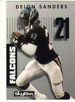 Deion Sanders Atl Falcons Atlanta Falcons Wallpaper Falcons Football Falcons
