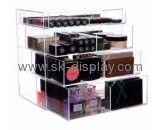 Custom makeup acrylic case cheap makeup drawers container store makeup organizer CO-282
