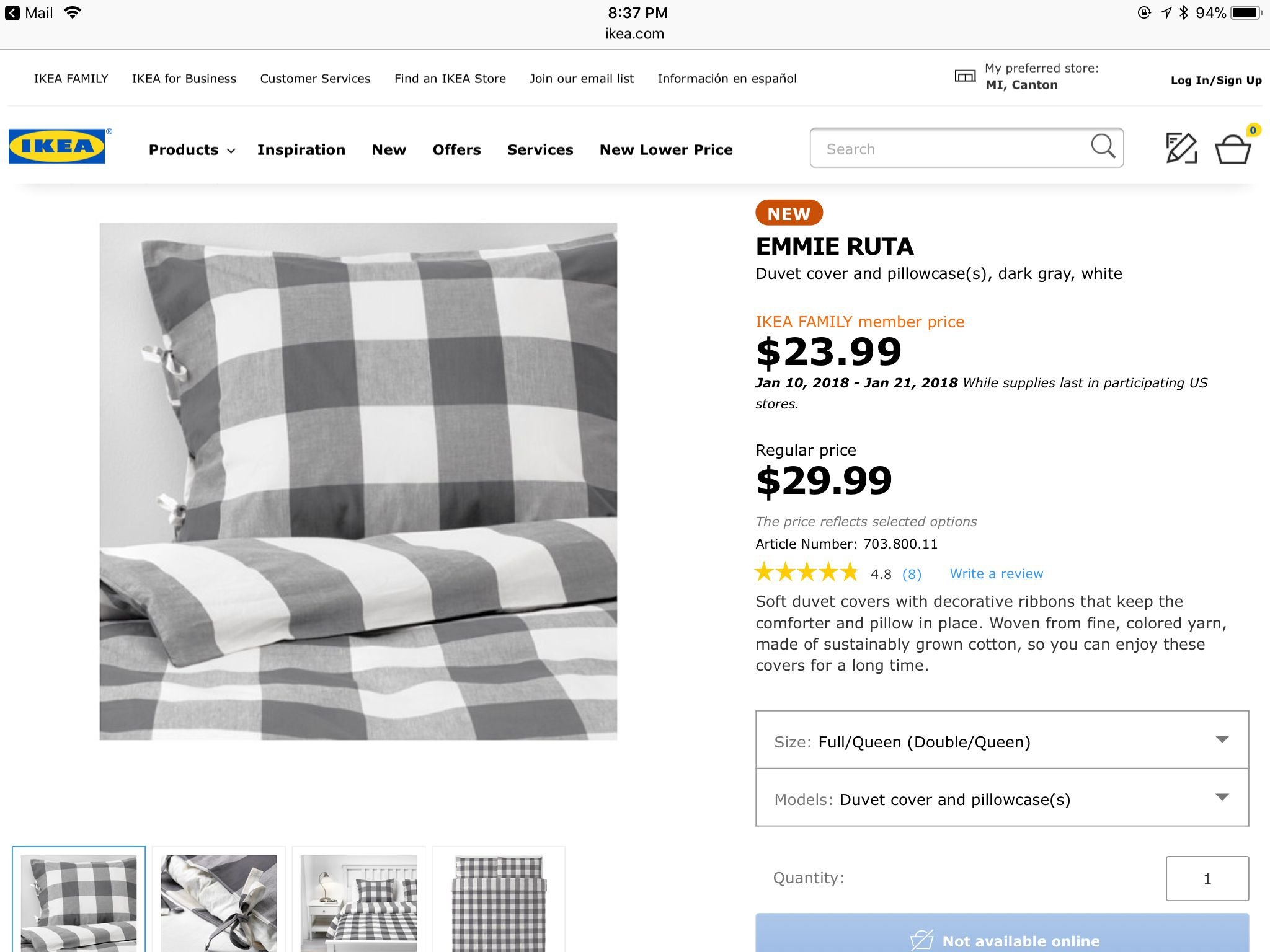 Pin By Diane Pitak On Cottage Ikea Store Ikea Family Duvet Covers