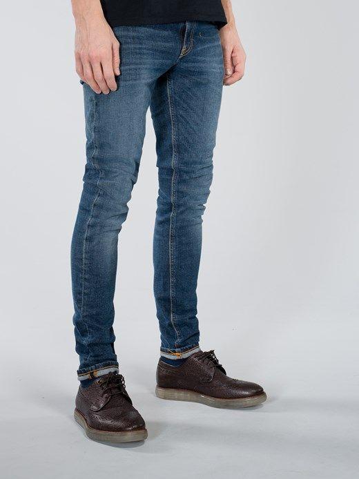 1d22bad5c97f Skinny Lin Navy Friday Blues - Nudie Jeans Online Shop