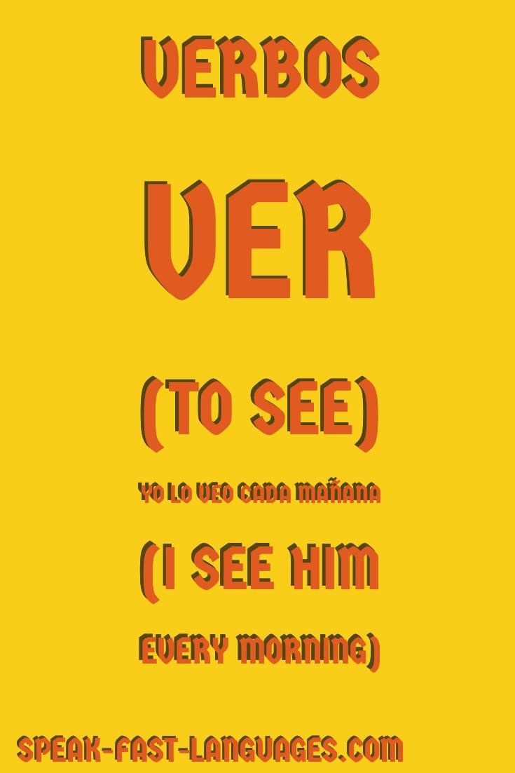 Most common Spanish verbs | Español | Teach yourself spanish