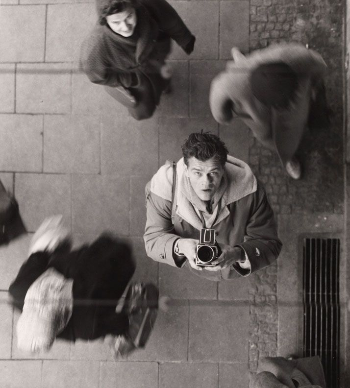 . Peter Keetman, Self-Portrait with Camera, ca 1950