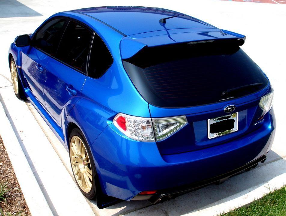 Hatchback Look Of Subaru Impreza Wrx Sti With Exhaust System Subaru Wrx Hatchback Subaru Wrx Sti Hatchback Wrx