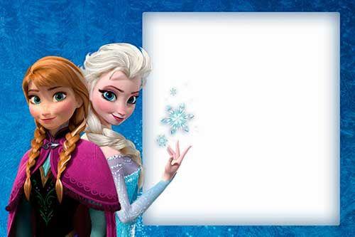 Pin De Franzinha Franzinha Em Fran Convites Frozen Convite