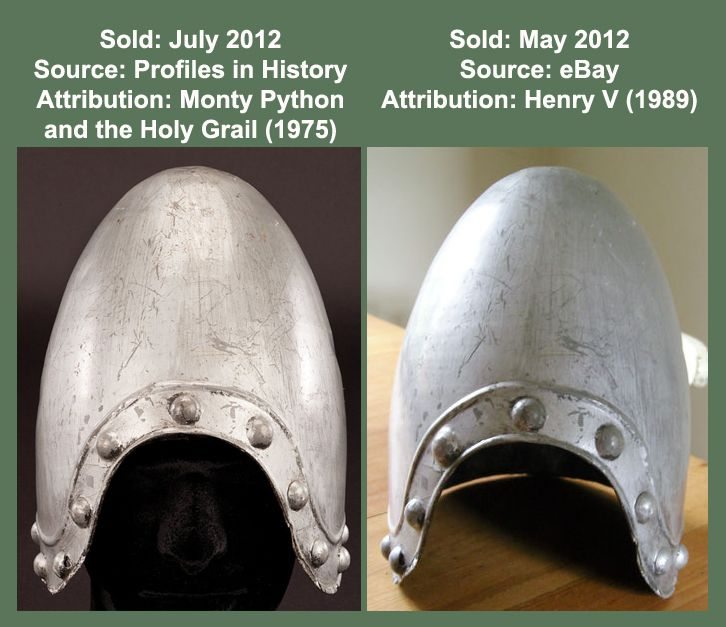 Monty Python and the Holy Grail Helmet