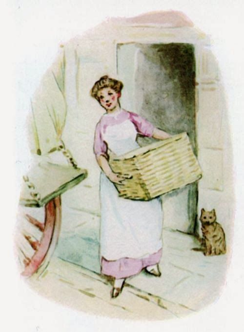 """Strangers & Pilgrims on Earth: Beatrix Potter Projects ~ """"Baskets"""" of Fun for the Homemaker"""