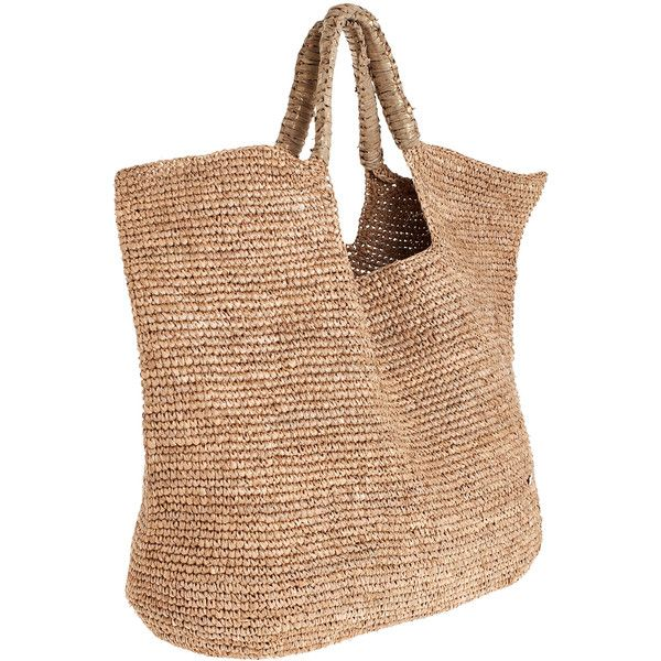 FLORA BELLA Nappa Beach Tote ($275) found on Polyvore | Calypso St ...