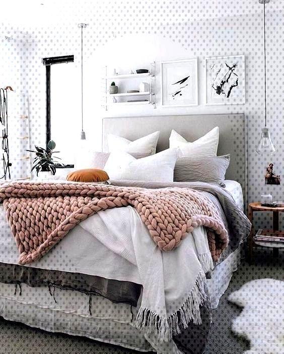 Elegant Modern Farmhouse Style Bedroom Decor Ideas - Design fashionhijab DIY jewel buildings beau