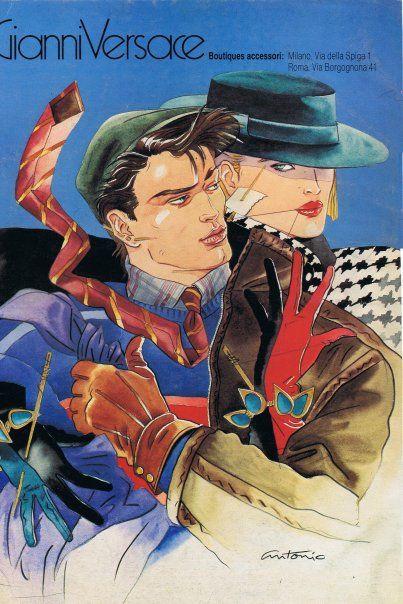 Antonio Lopez Ilustracion Vintage Ilustracion De Moda