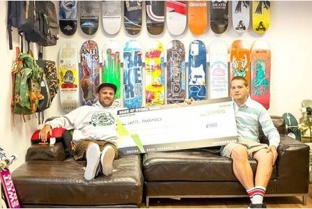 ISLE business Skate Pharmacy has won a national video competition called Store Wars.  The retailer in Strasbourg Street, which sells skateboards, streetwear and trainers, took to the challenge with...